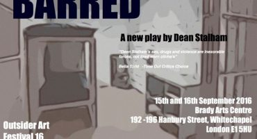 BARRED: a new play by Dean Stalham