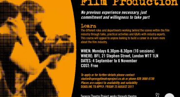 Free courses for ex-prisoners with Synergy Theatre Project
