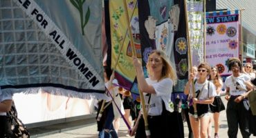 Lucy Orta: Procession Banners