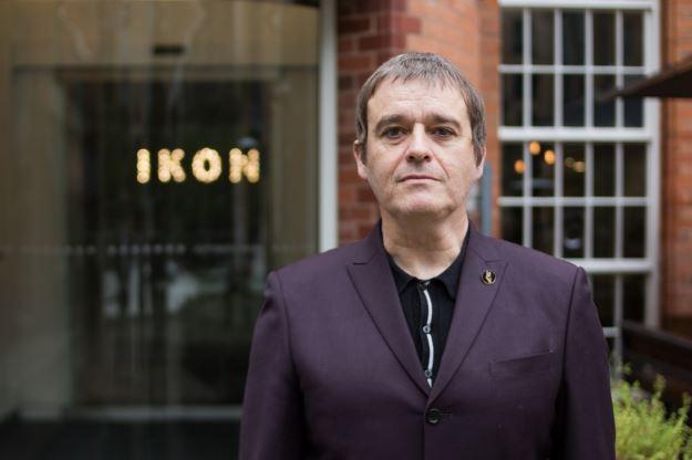 Dean Kelland standing outside Ikon Gallery