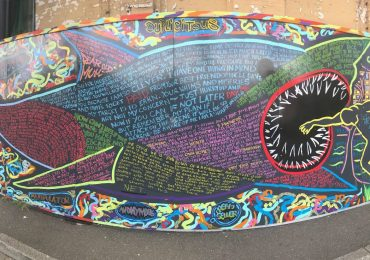 Local prison collaborates on new mural for Ipswich