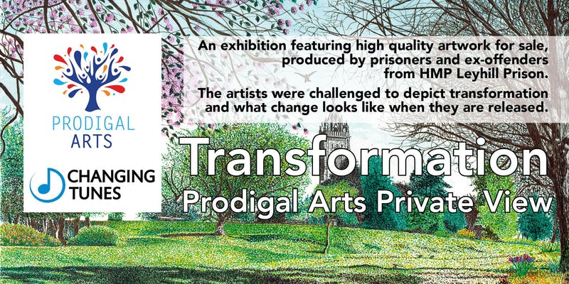 Transformation exhibition poster