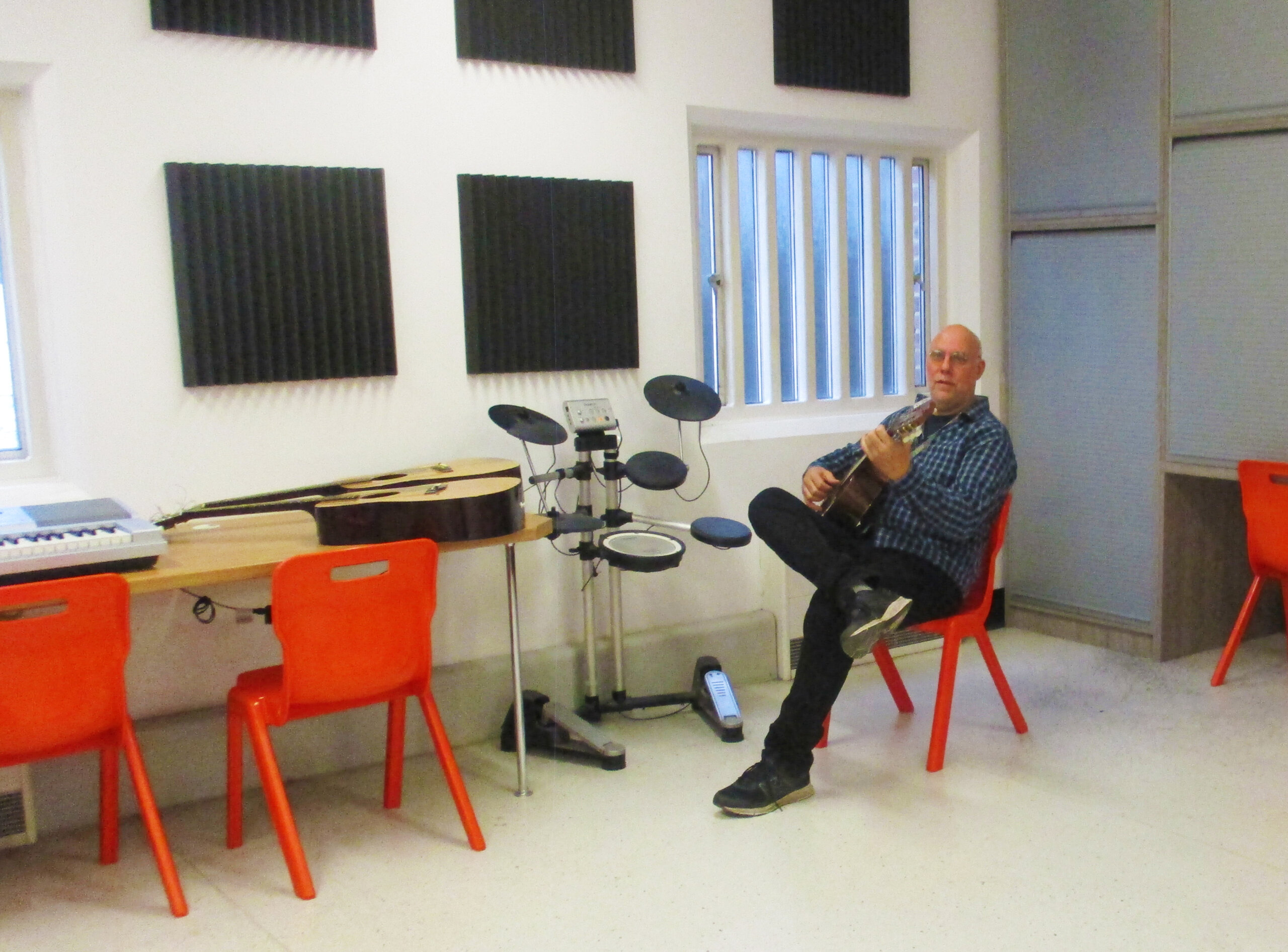 Adapting group music sessions for lockdown at HMP Pentonville